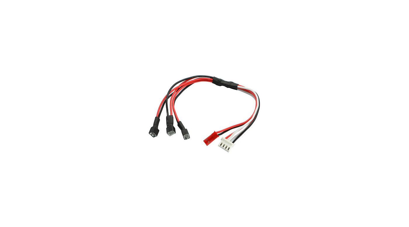 Image for Balance Charging Cable 3-in-1, Type PHR-2 from HorizonHobby