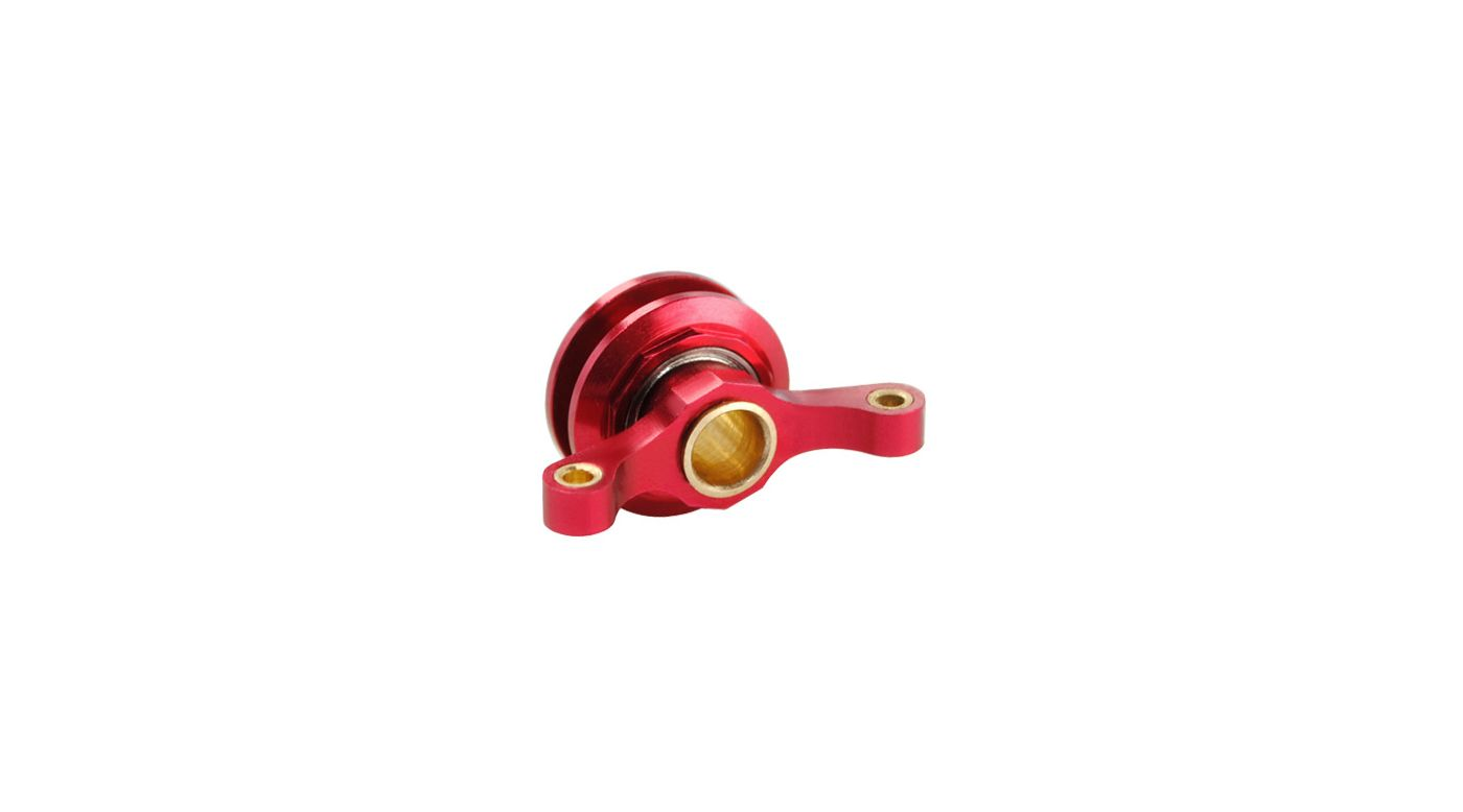 Image for CNC Aluminum Tail Pitch Slider, Red: Blade 450 3D/X from HorizonHobby