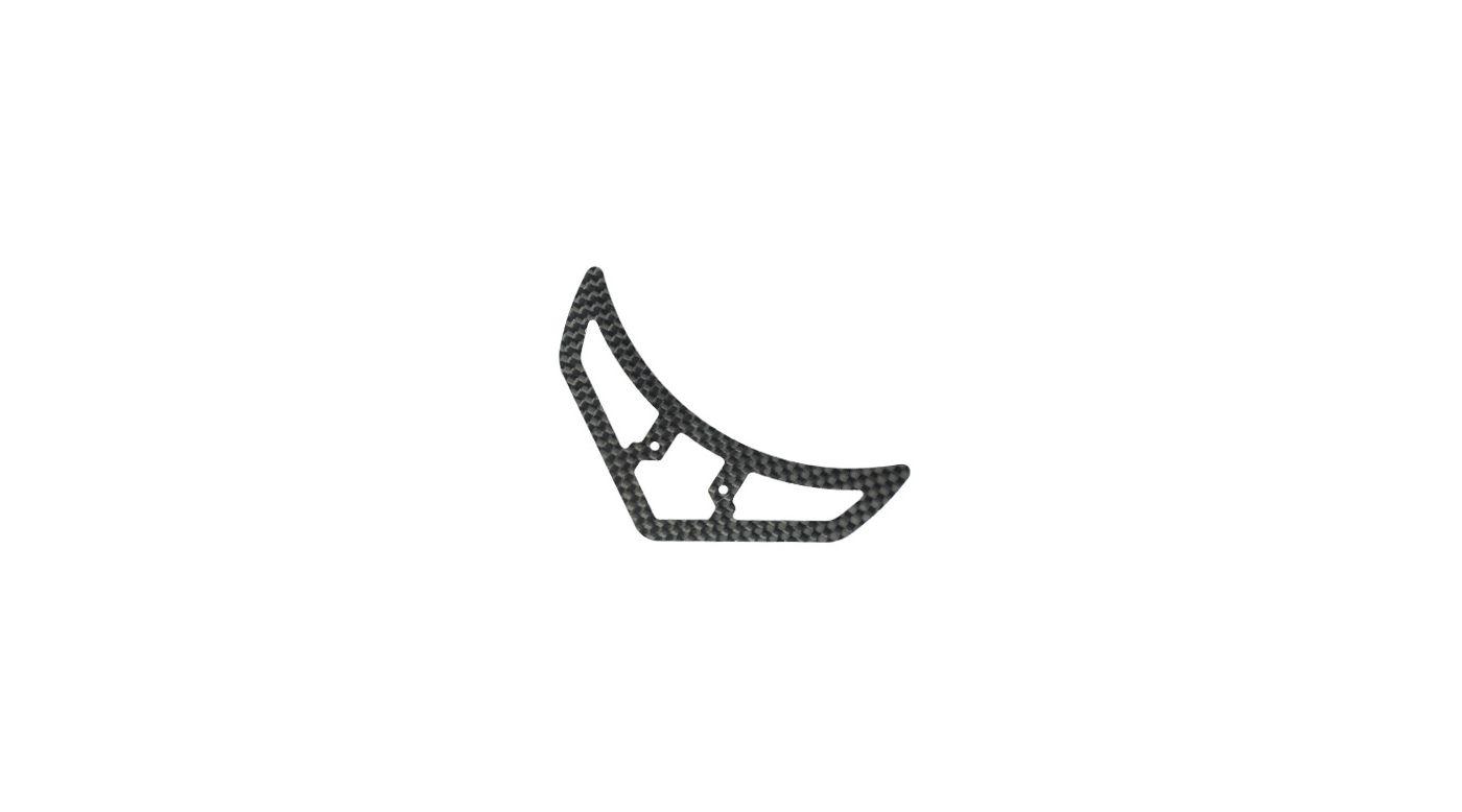 Image for Carbon Fiber Horizontal Fin: Blade 450 3D/X from HorizonHobby