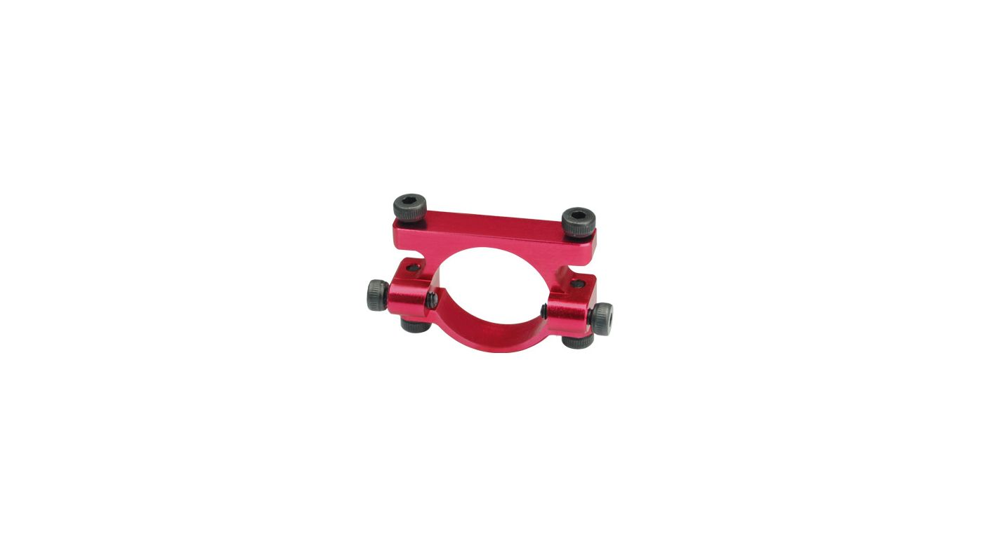 Image for Aluminum Tail Boom Support Mount, Red: Blade 450 3D/X from HorizonHobby