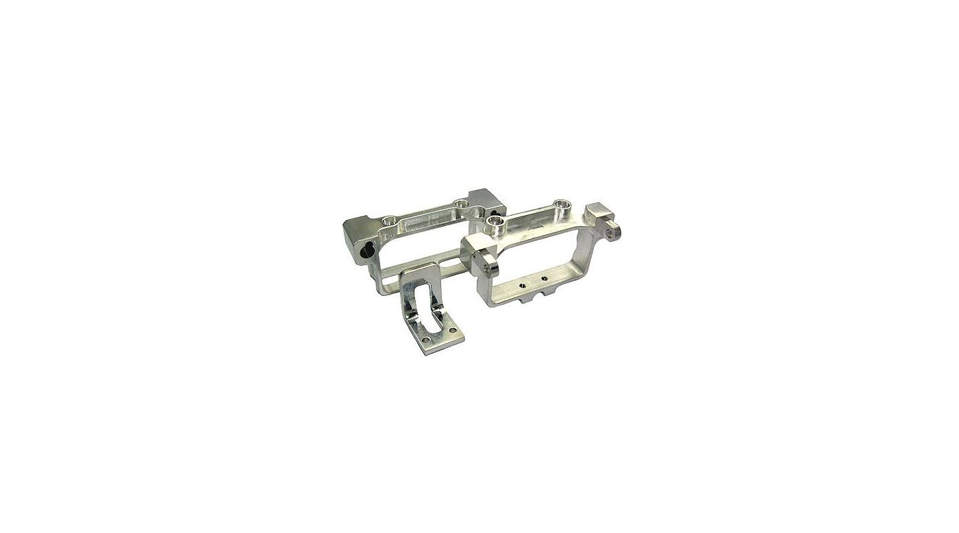 Image for CNC Aluminum Battery Tray, Silver: BCX/CX2 from HorizonHobby