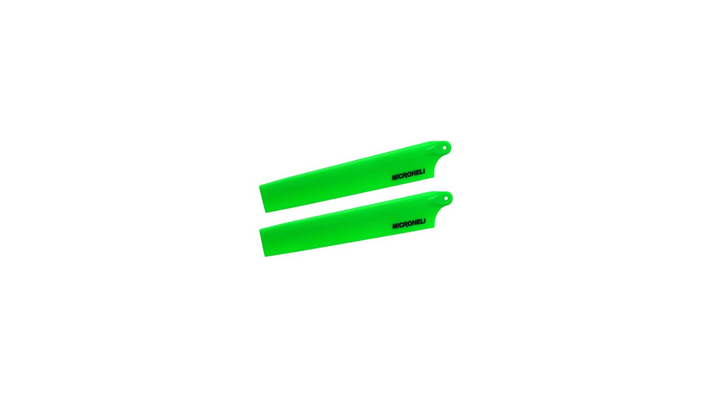 Image for Plastic Main Blade 117mm, Green: mCP X BL from HorizonHobby