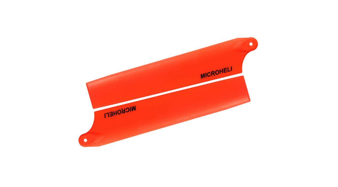 Image for Plastic Main Blade 105mm, Orange: Blade mCP X from HorizonHobby