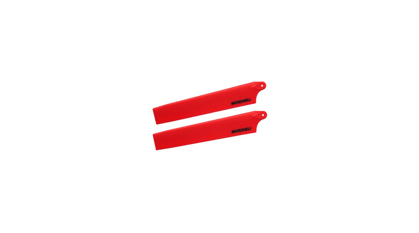 Image for Plastic Main Blade 117mm, Red: mCP X BL from HorizonHobby