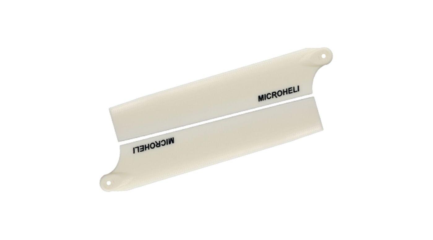 Image for Plastic Main Blade 105mm, White: Blade mCP X from HorizonHobby