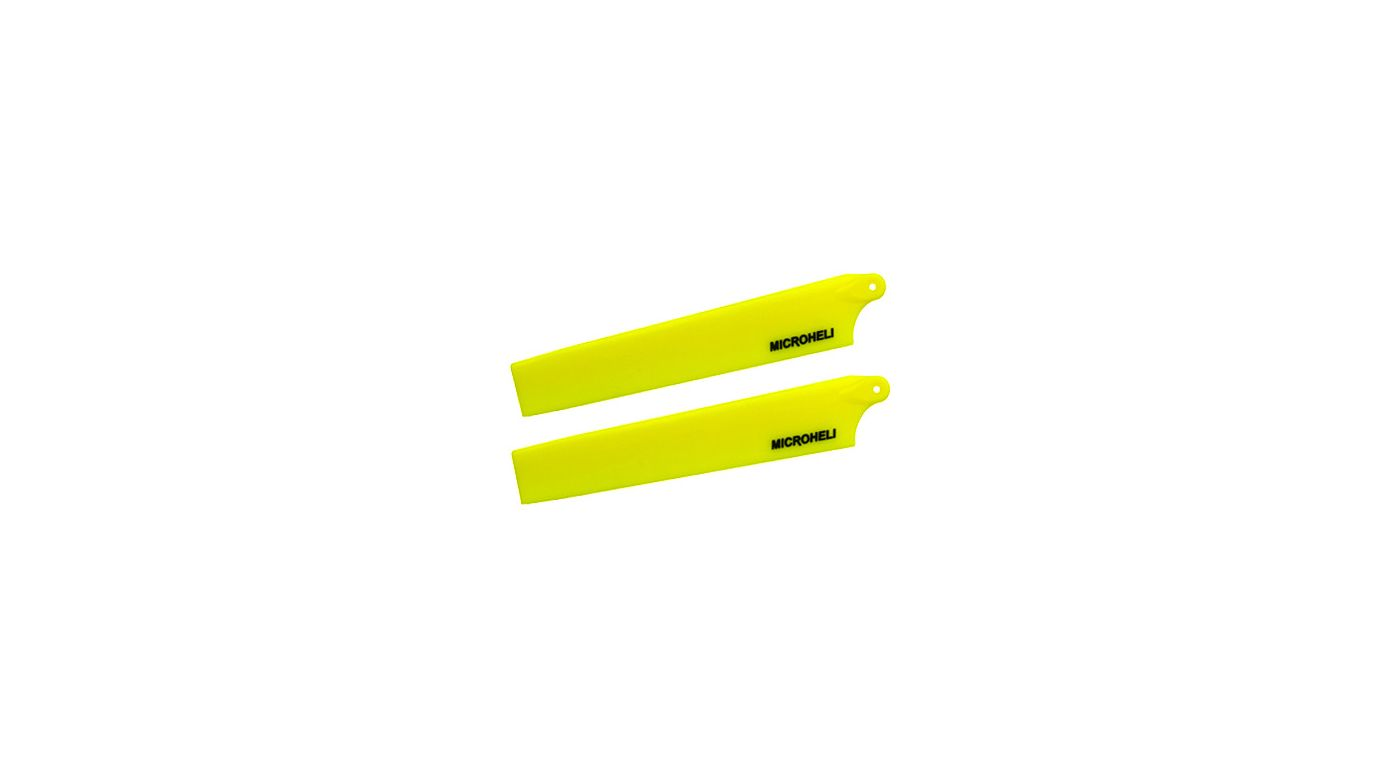 Image for Plastic Main Blade 117mm, Yellow: mCP X BL from HorizonHobby