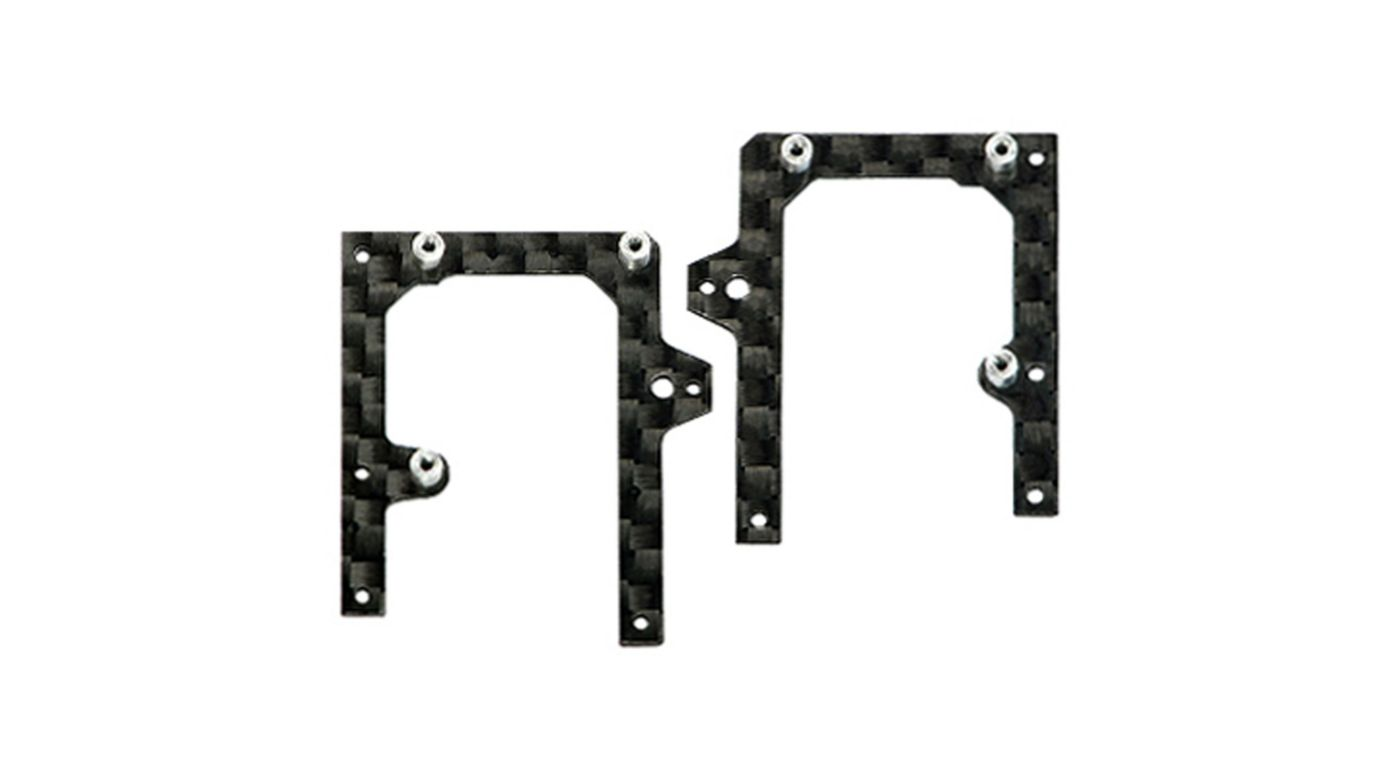 Image for Carbon Fiber Main Frame L/R Set: MHEMCPX005/B from HorizonHobby
