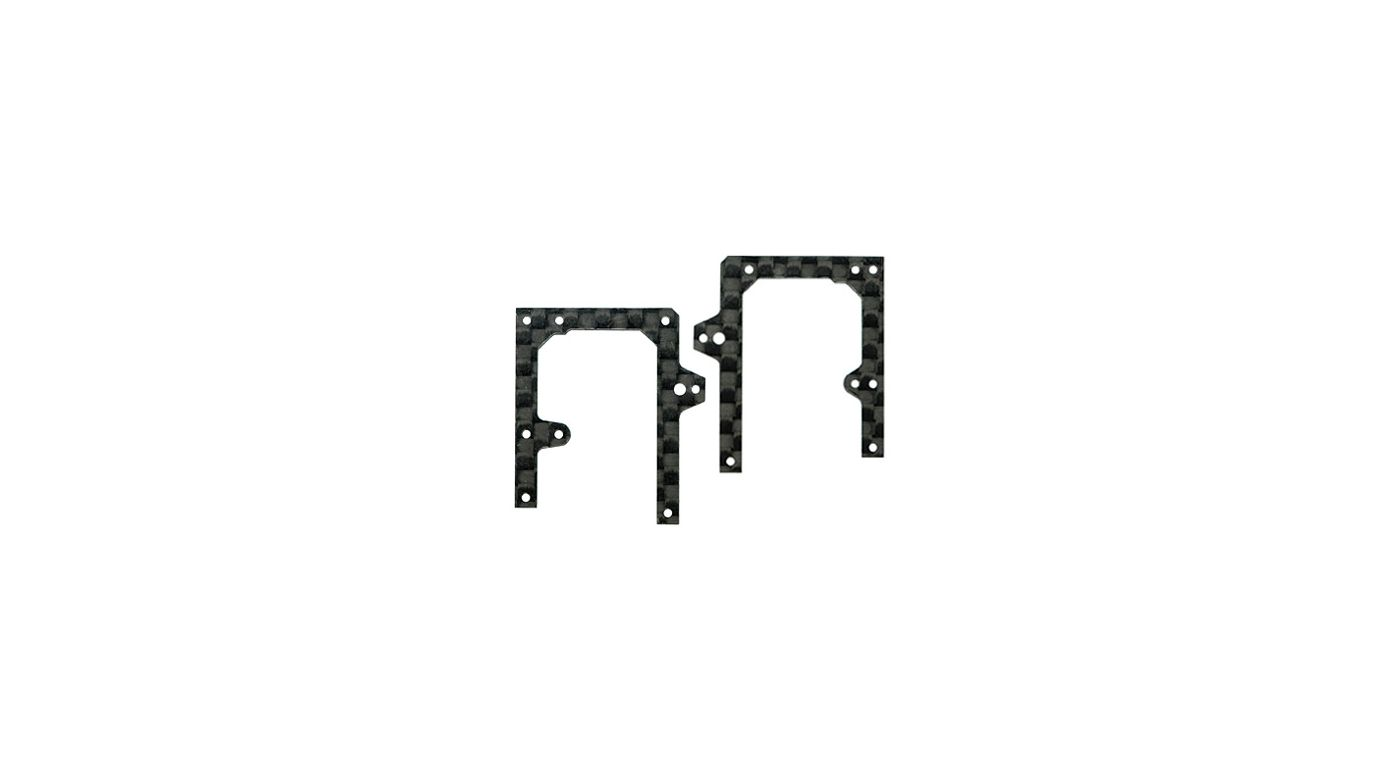 Image for Carbon Fiber Front X Frame A/B Set: MHEMCPX005/B/X from HorizonHobby