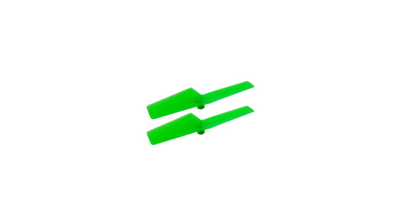 Image for Plastic Tail Blade, Green: mCP X BL from HorizonHobby