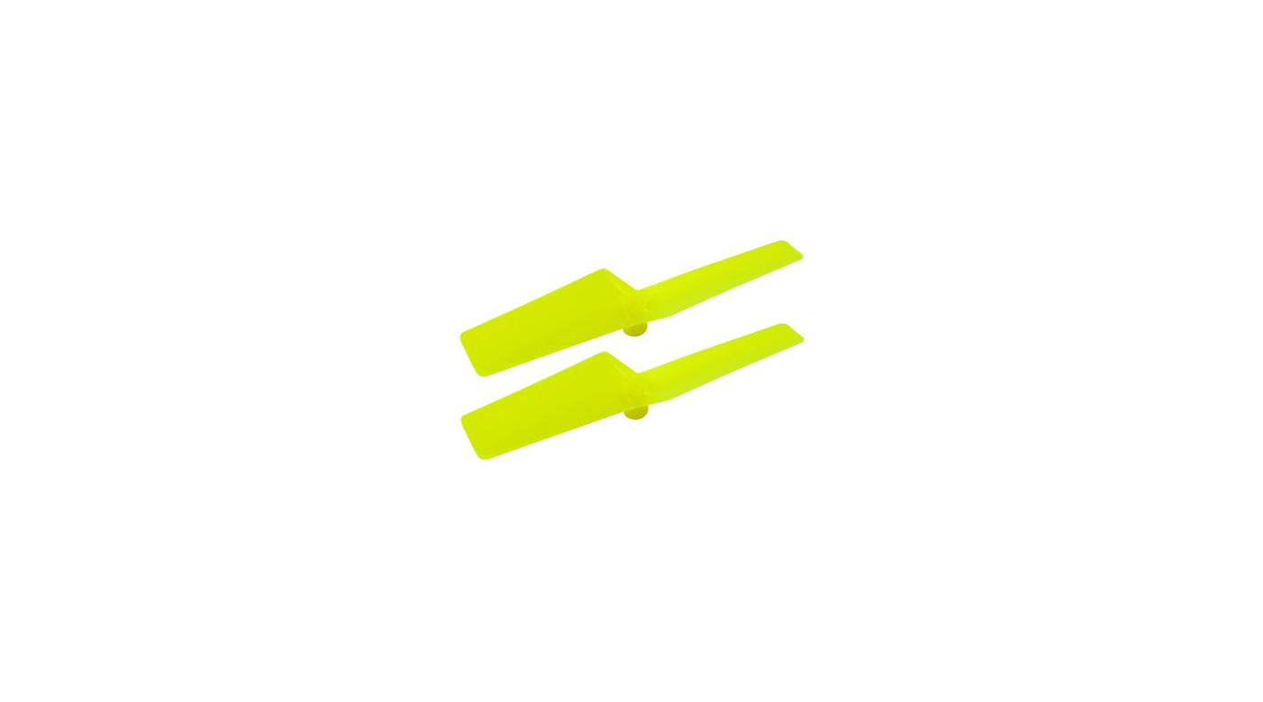 Image for Plastic Tail Blade, Yellow: mCP X BL from HorizonHobby