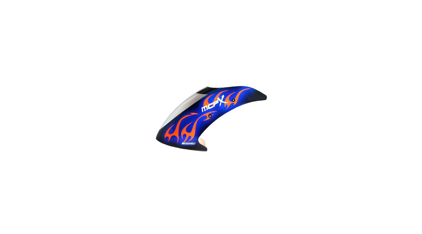 Image for Night Blaze Canopy, Fiberglass: Blade mCP X from HorizonHobby