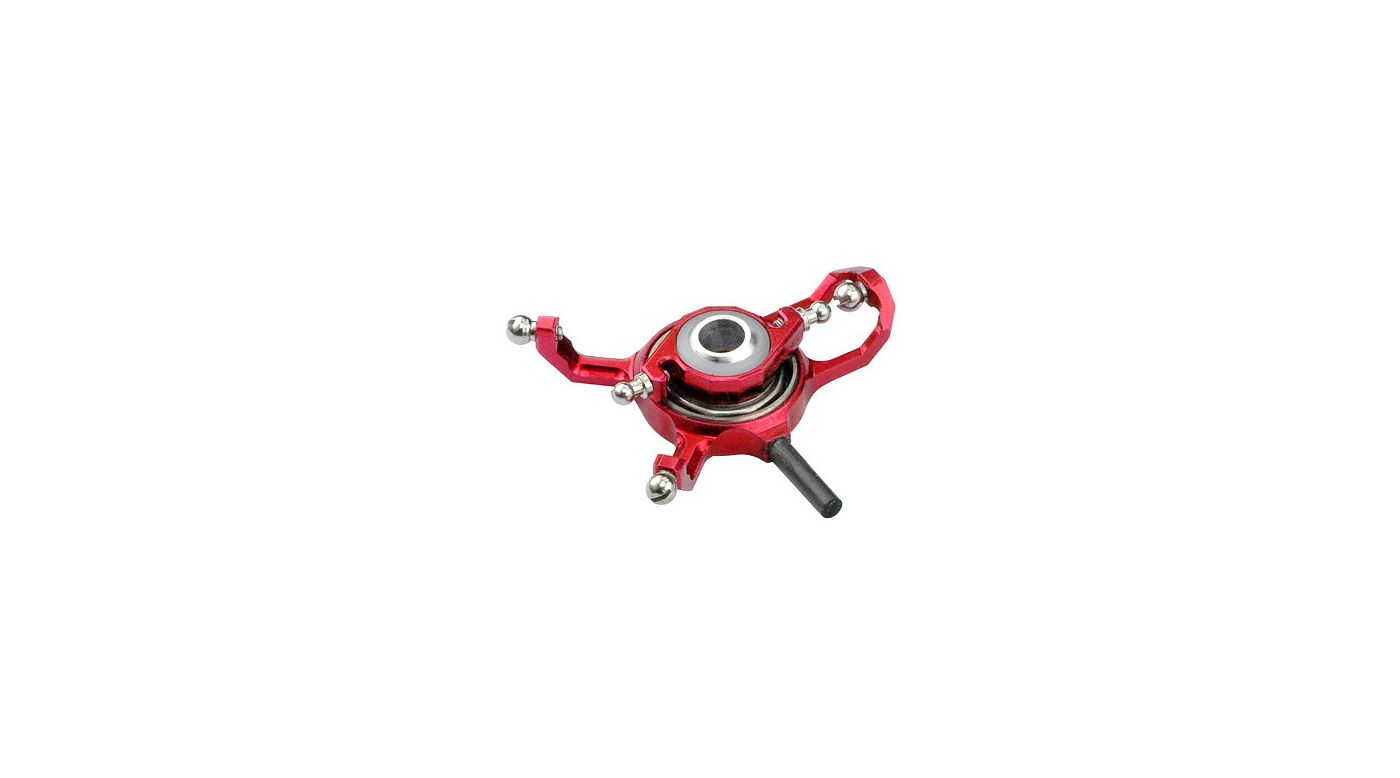 Image for CNC Swashplate, Red: Blade mCP X from HorizonHobby