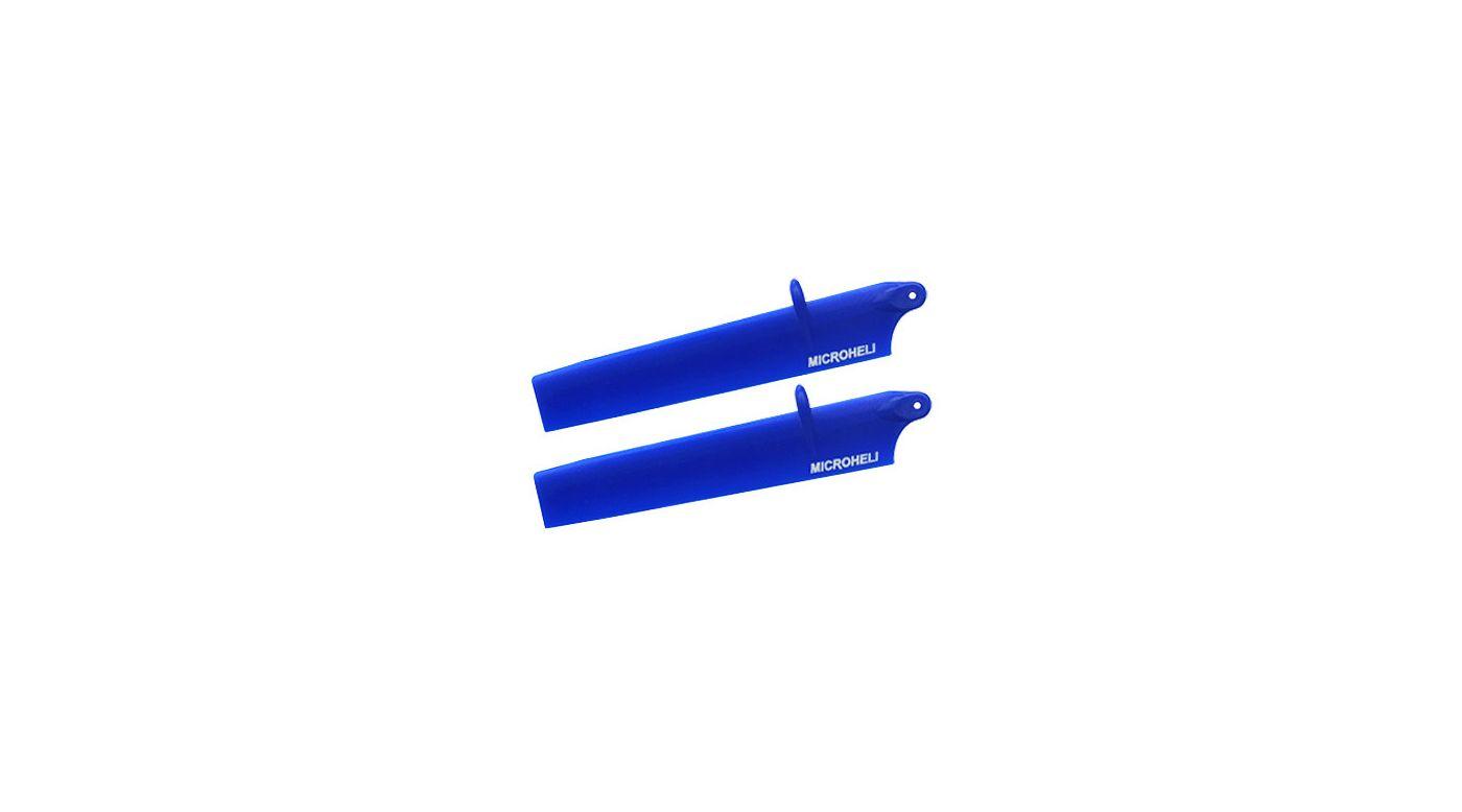 Image for Bullet Plastic Main Blade, 117mm, Blue: mCP X BL from HorizonHobby