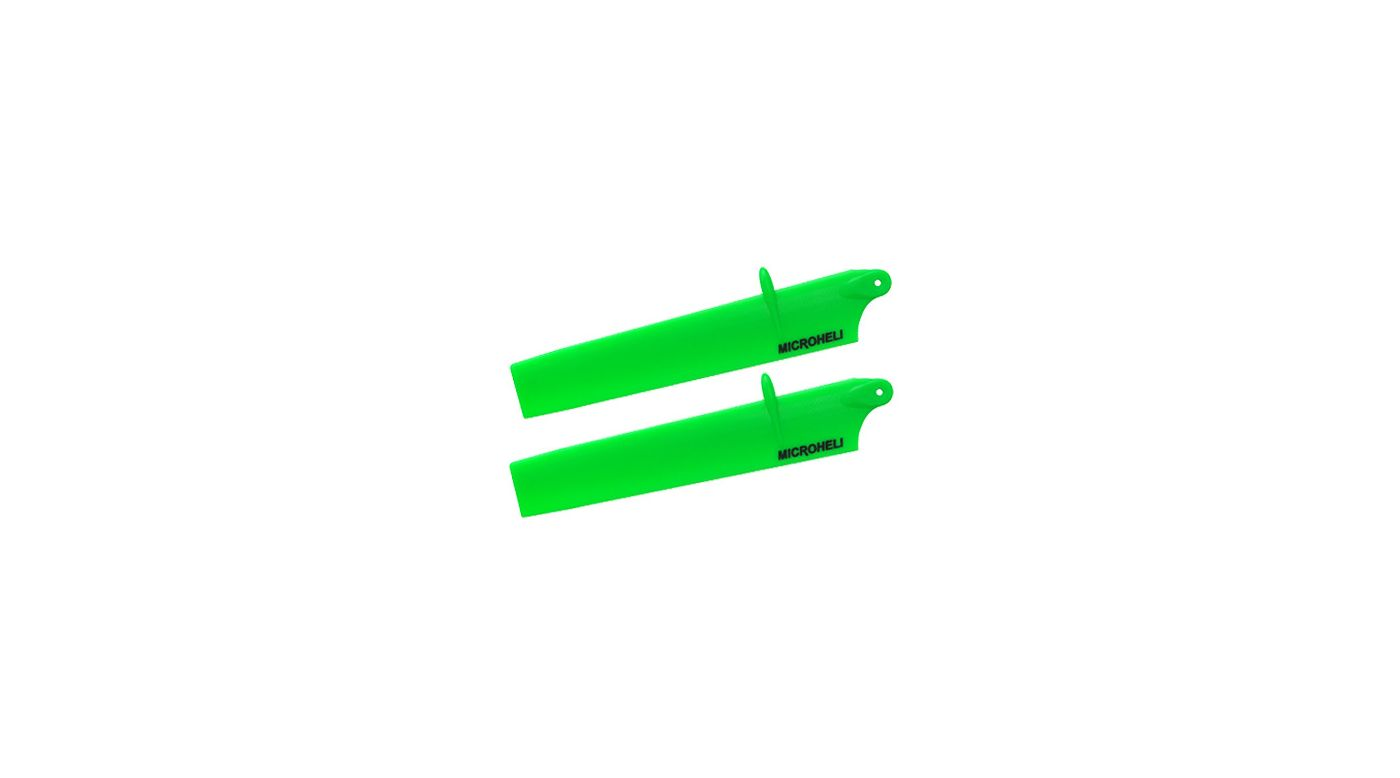 Image for Bullet Plastic Main Blade 117mm, Green: mCP X BL from HorizonHobby