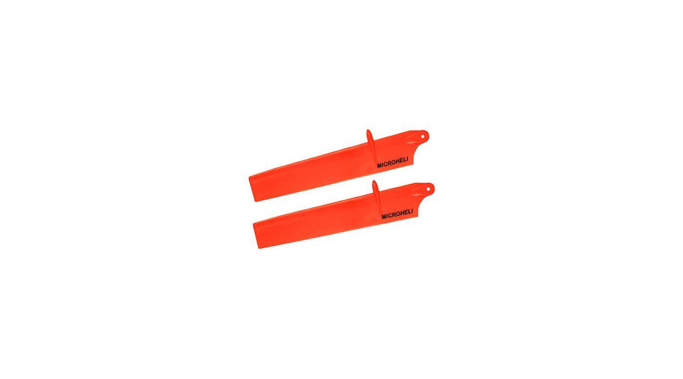 Image for Bullet Plastic Main Blade 117mm, Orange: mCP X BL from HorizonHobby