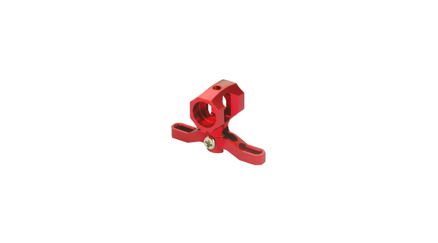 Image for Precision CNC Aluminum Main Rotor Hub, Red: mCP X BL from HorizonHobby