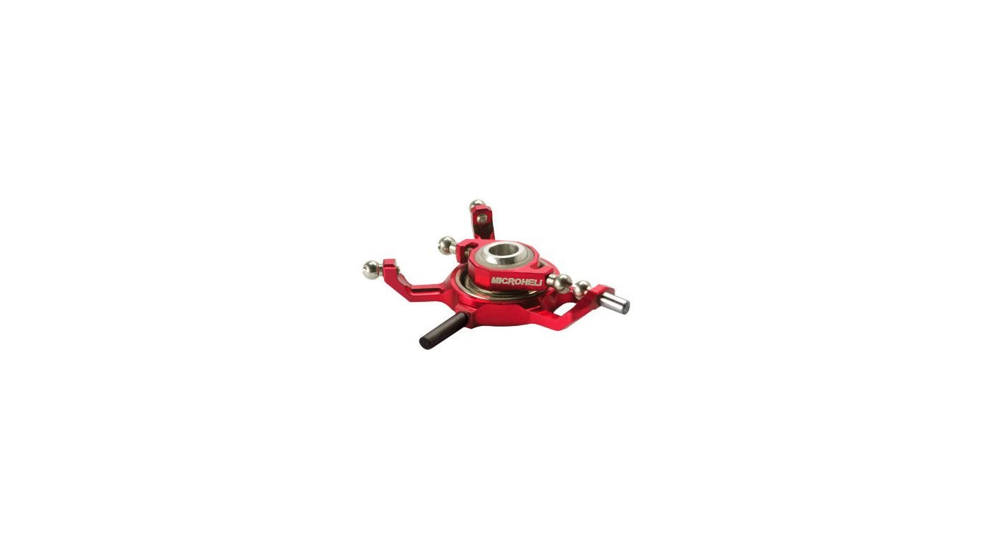 Image for Precision CNC Aluminum X Swashplate, Red: mCP X BL from HorizonHobby