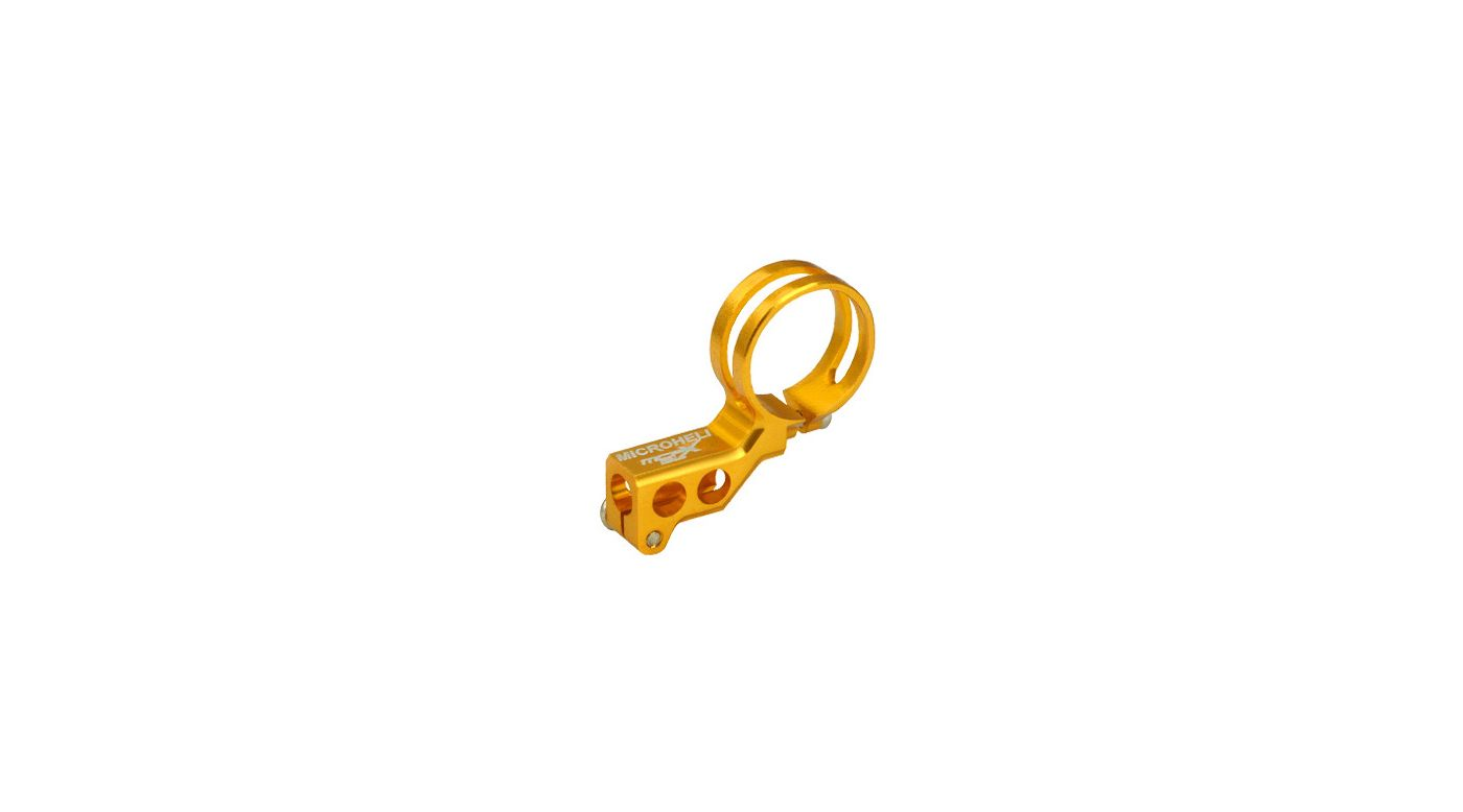 Image for Aluminum Tail Motor Mount, Gold: mCP X BL from HorizonHobby