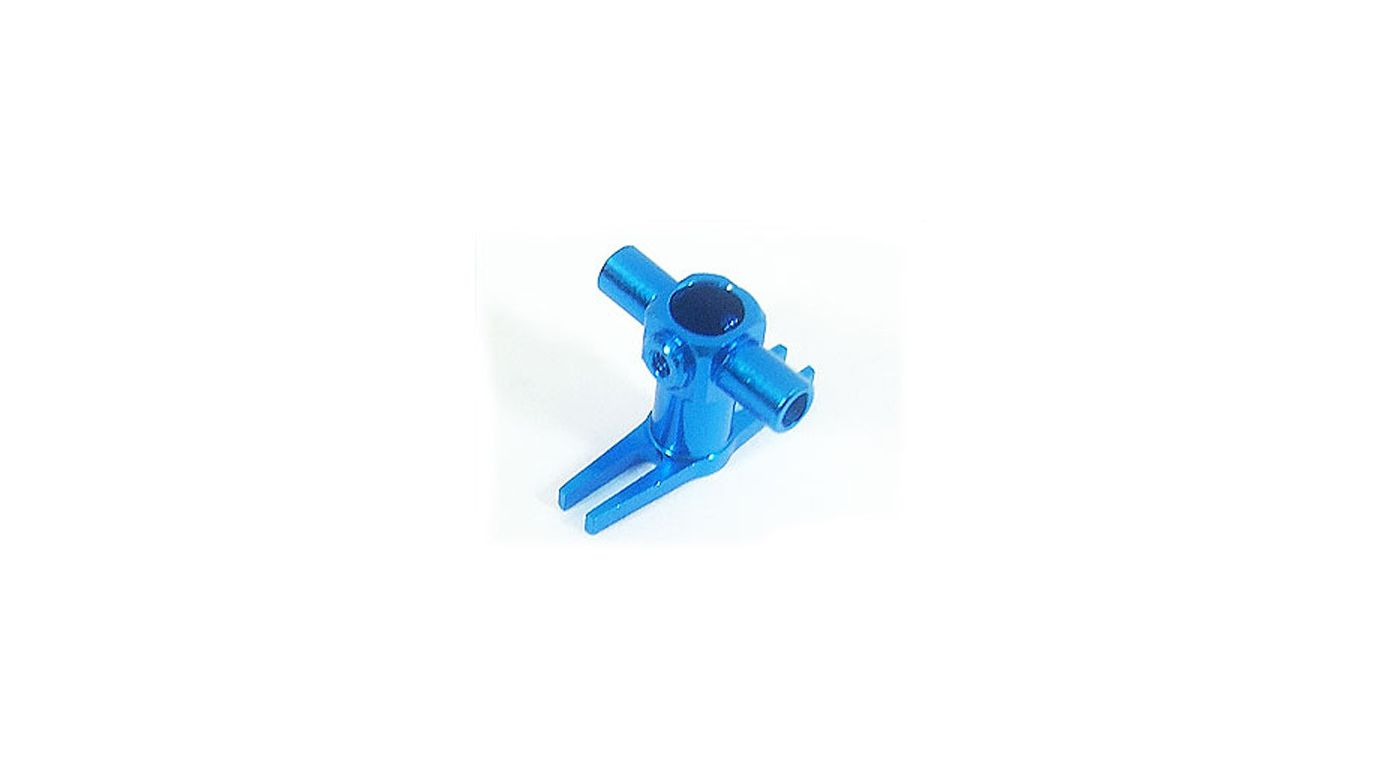 Image for Precision CNC Lower Head, Blue:Blade MCX,MCX2 from HorizonHobby