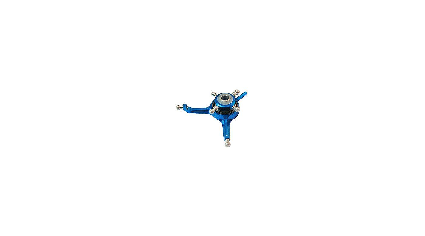 Image for Precision CNC Aluminum Swashplate SE, Blue: Blade mSR from HorizonHobby