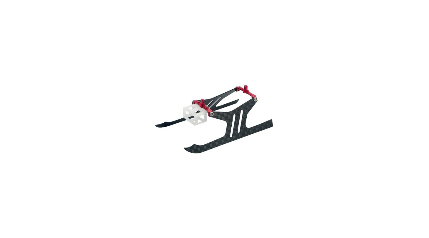 Image for Carbon Fiber Landing Gear Set, Red: Blade mSR X from HorizonHobby