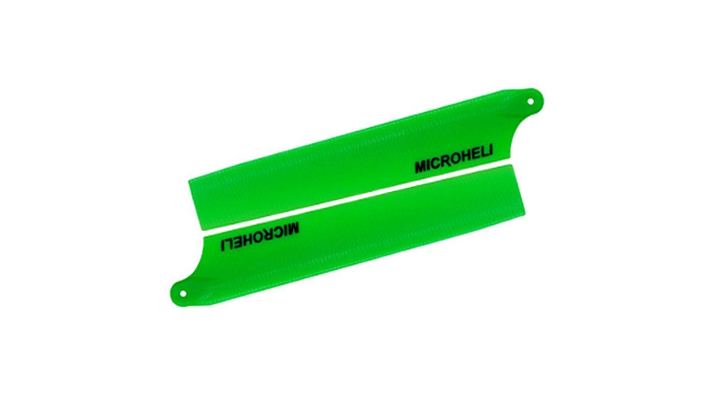 Image for Plastic Main Blade 85mm, Green: Blade Nano CP X from HorizonHobby