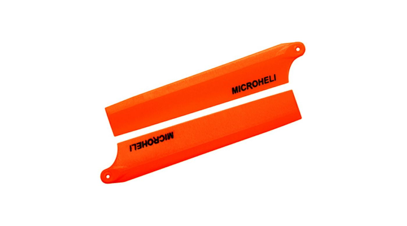 Image for Plastic Main Blade 85mm, Orange: Blade Nano CP X from HorizonHobby