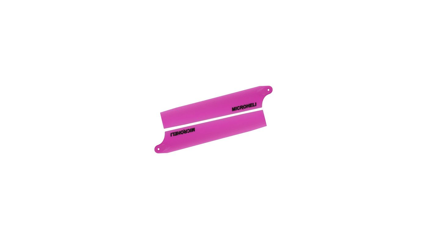 Image for Plastic Main Blade 85mm, Purple: Blade Nano CP X from HorizonHobby