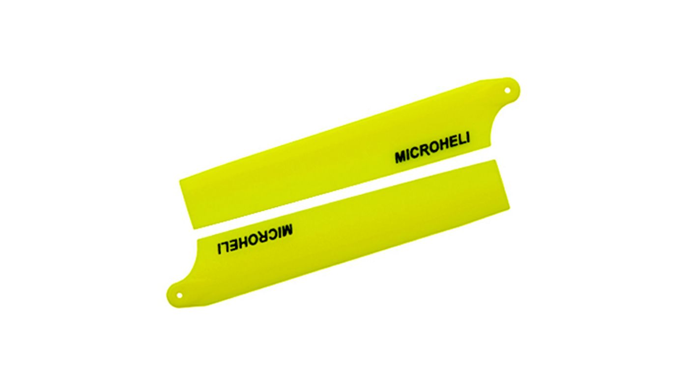 Image for Plastic Main Blade 85mm, Yellow: Blade Nano CP X from HorizonHobby