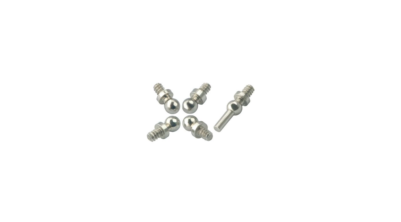 Image for CNC Steel Swash Ball Set: MHE Blade Nano CP X Swashplates from HorizonHobby