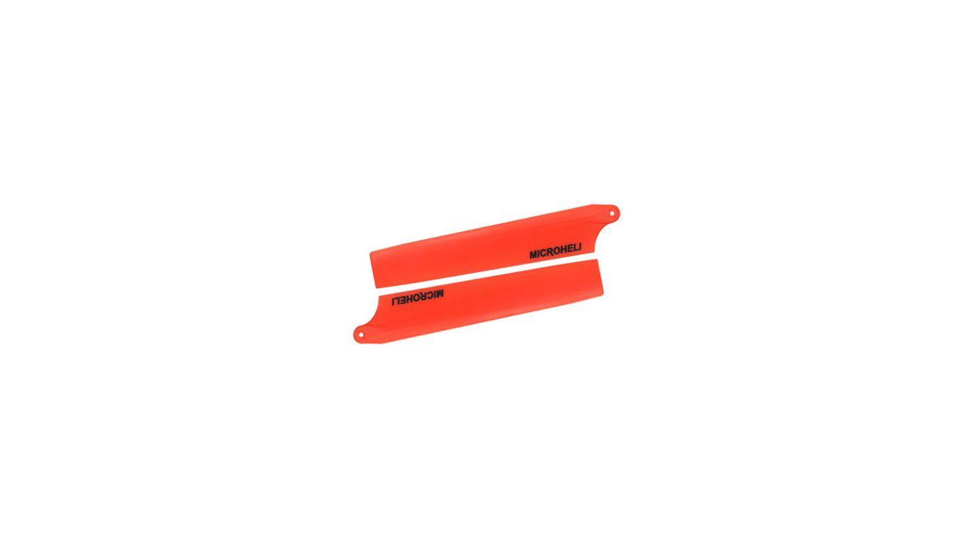 Image for Long Plastic Main Blade 94mm, Orange: Blade Nano CP X from HorizonHobby