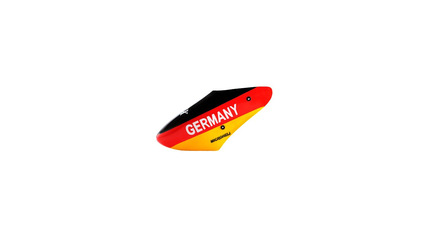 Image for Fiberglass Germany Flag Canopy: Blade Nano CP X from HorizonHobby