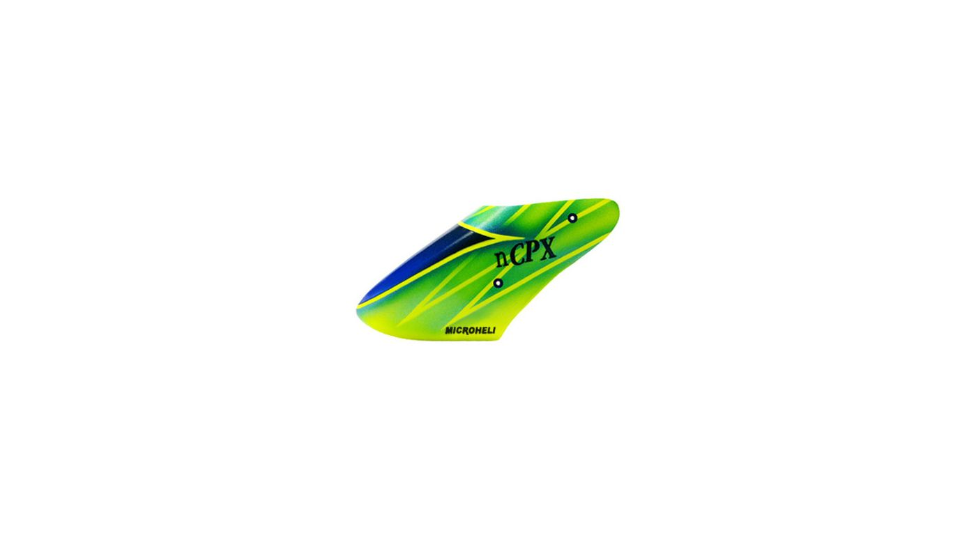 Image for Fiberglass Green Poison Canopy: Blade Nano CP X from HorizonHobby