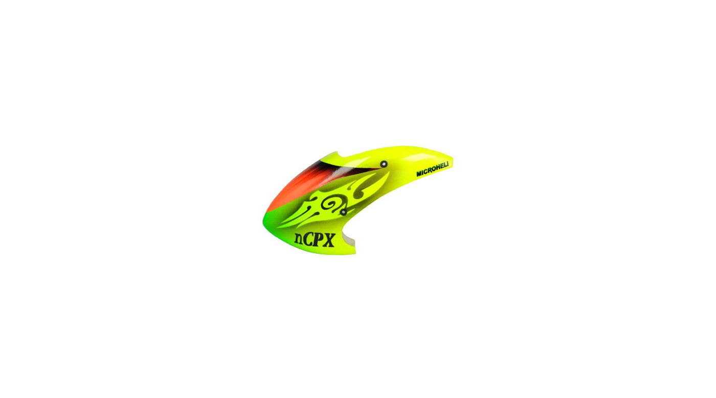 Image for Mysterious Eyes Canopy, Airbrushed Fiberglass: Blade Nano CP X from HorizonHobby