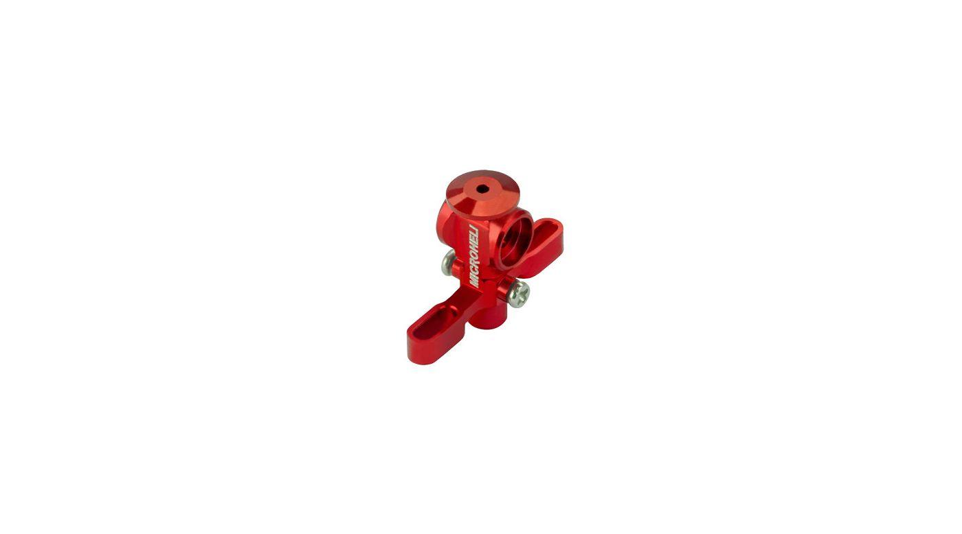 Image for Aluminum Main Rotor Hub w/ Button, Red: Blade Nano CP X from HorizonHobby