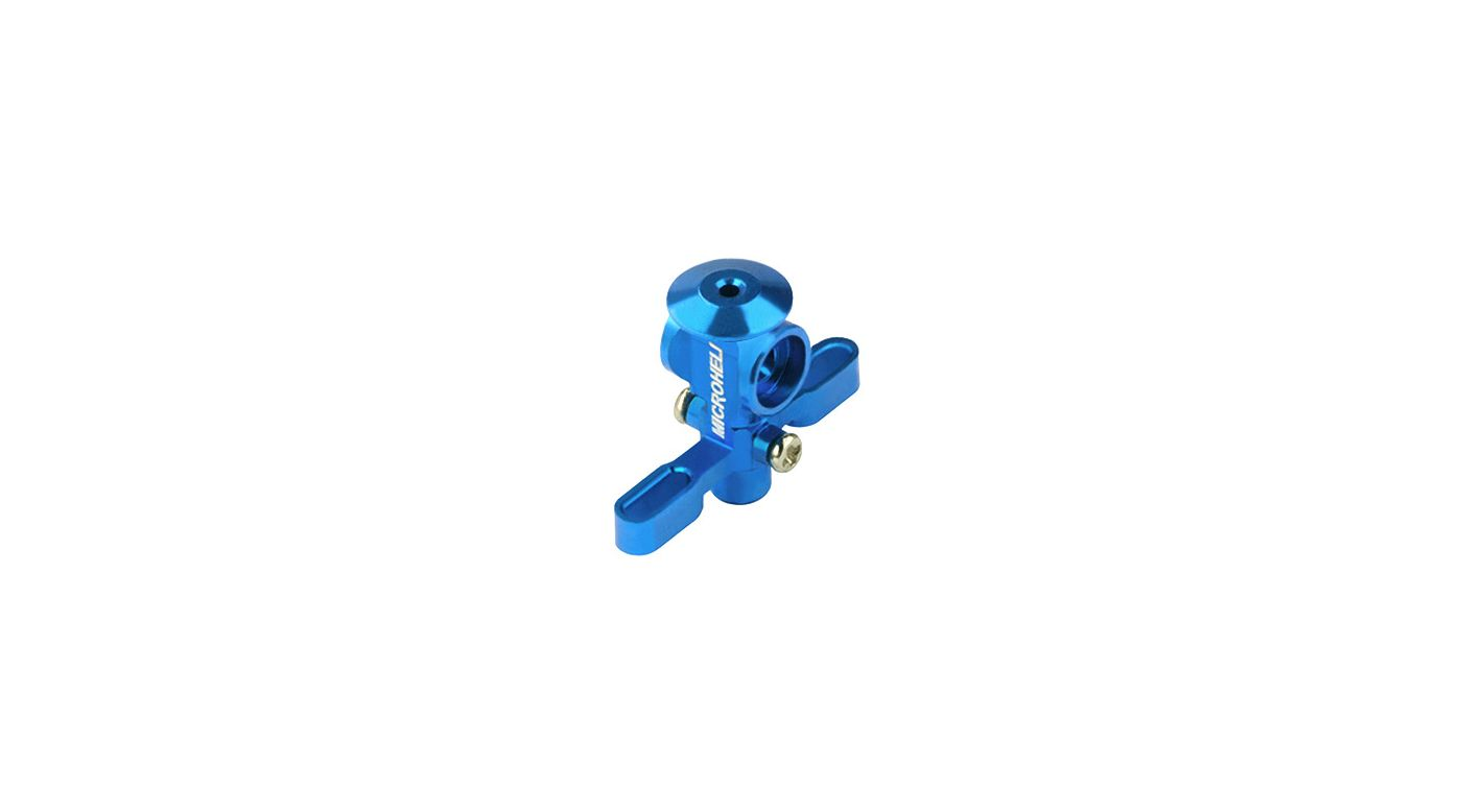 Image for Aluminum Main Rotor Hub w/ Button, Blue: Nano CP X from HorizonHobby