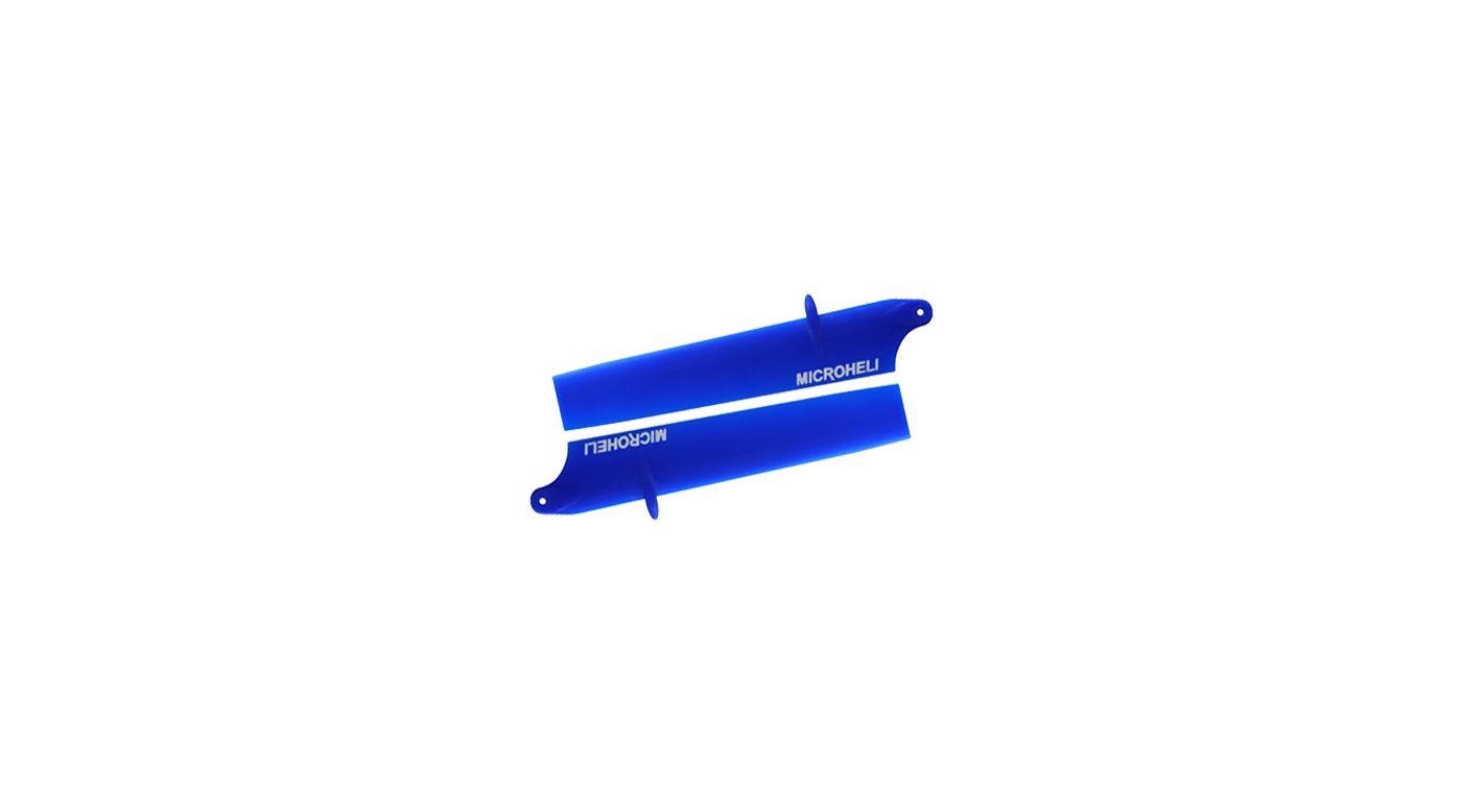 Image for Bullet Plastic Main Blade 85mm, Blue: Blade Nano CP X from HorizonHobby