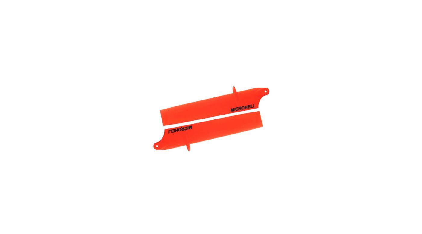 Image for Bullet Plastic Main Blade 85mm, Orange: Blade Nano CP X from HorizonHobby