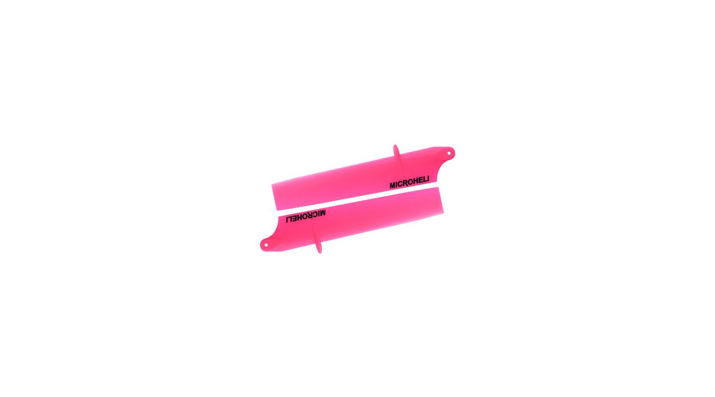 Image for Bullet Plastic Main Blade 85mm, Pink: Blade Nano CP X from HorizonHobby