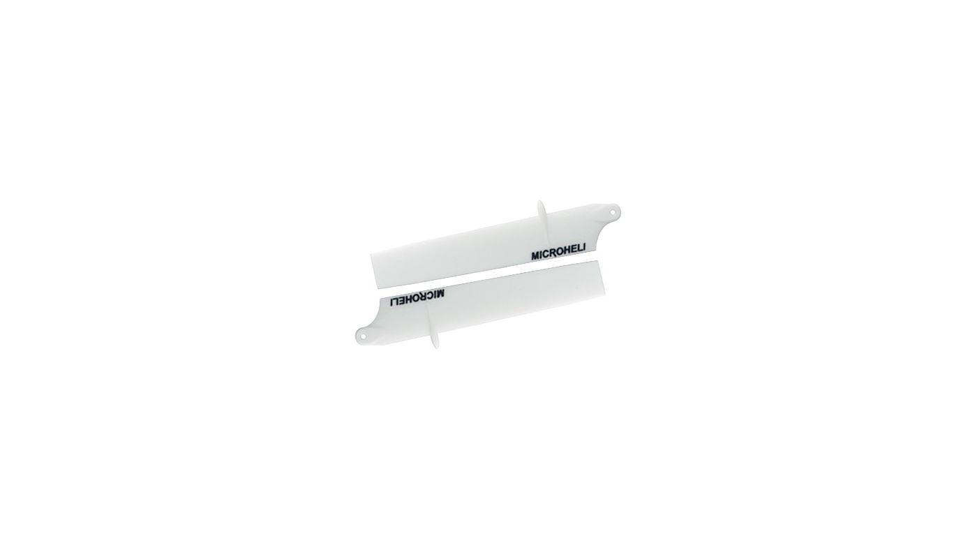Image for Bullet Plastic Main Blade 85mm, White: Blade Nano CP X from HorizonHobby