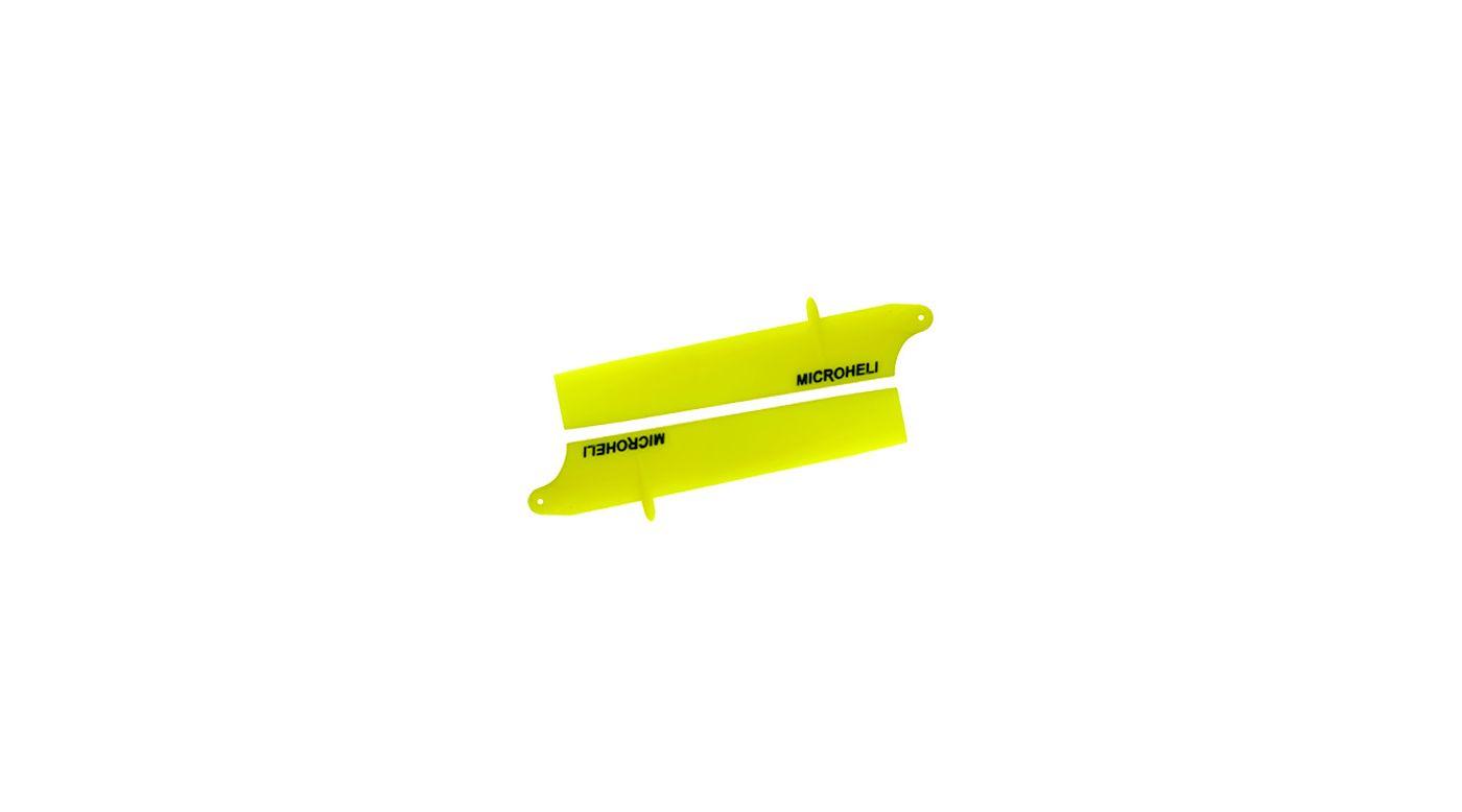 Image for Bullet Plastic Main Blade 85mm, Yellow: Blade Nano CP X from HorizonHobby