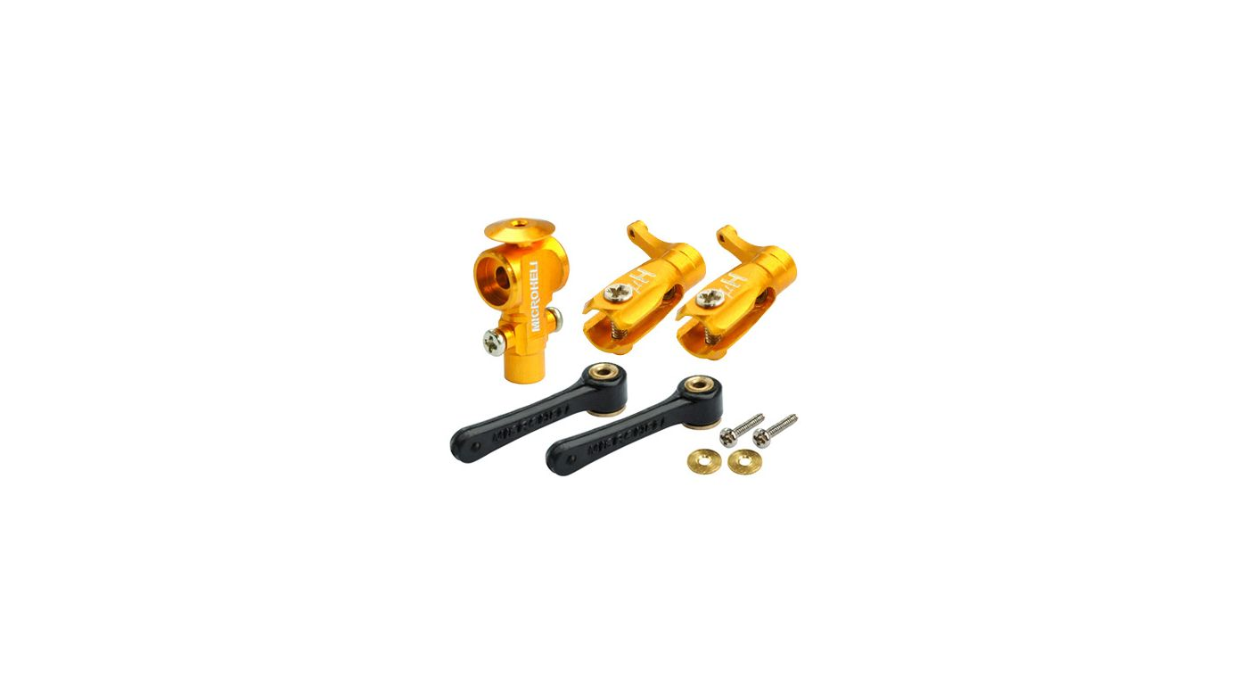 Image for CNC DFC Main Rotor Package, Gold: Blade Nano CP X from HorizonHobby