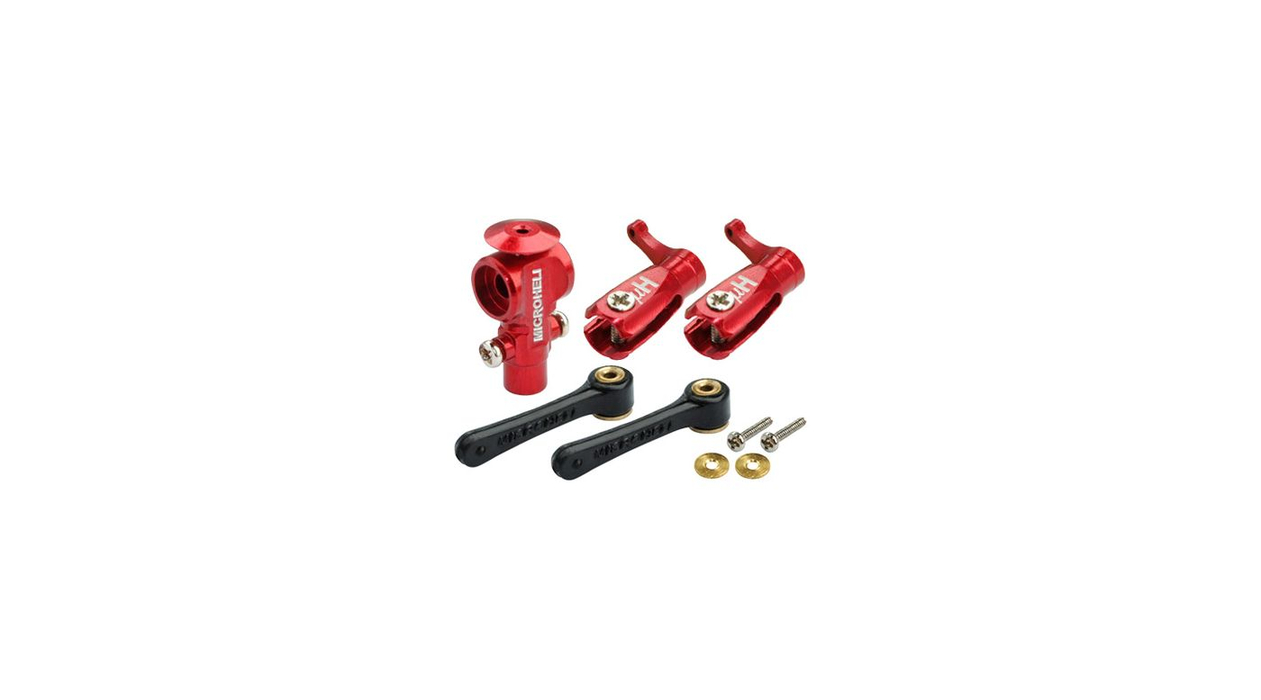 Image for CNC DFC Main Rotor Package, Red: Blade Nano CP X from HorizonHobby