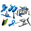 CNC Performance Package, Blue: Blade Nano CP X