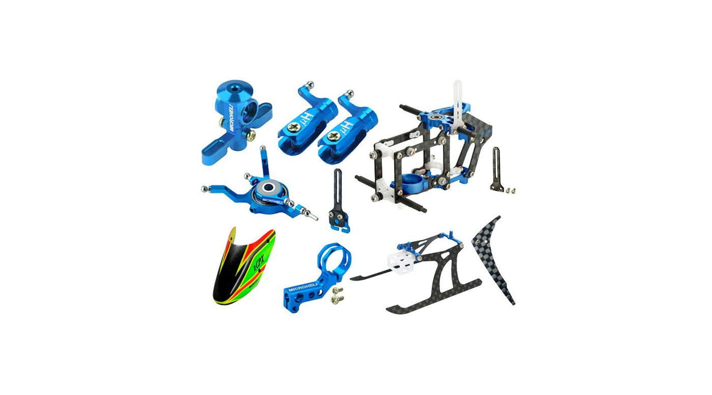 Image for CNC Performance Package, Blue: Blade Nano CP X from HorizonHobby