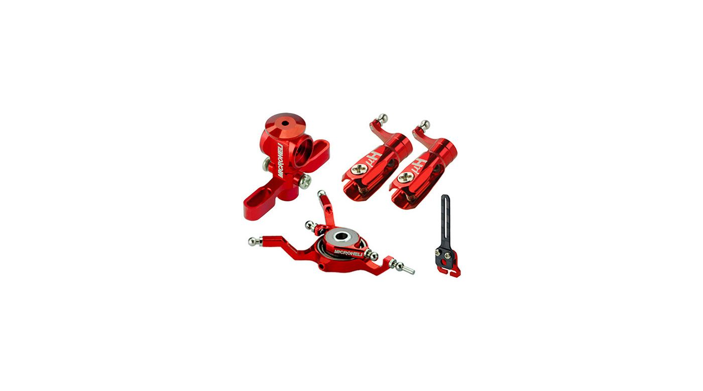 Image for CNC Power Package, Red: Blade Nano CP X from HorizonHobby