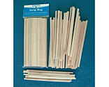 Midwest Products Co. - Balsa & Basswood Strips