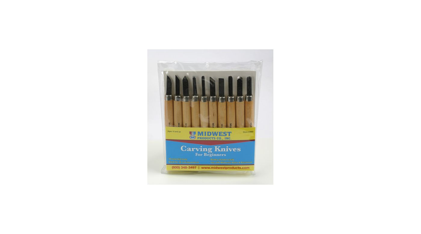 Image for Carving Knives, 10 pc. Set from HorizonHobby