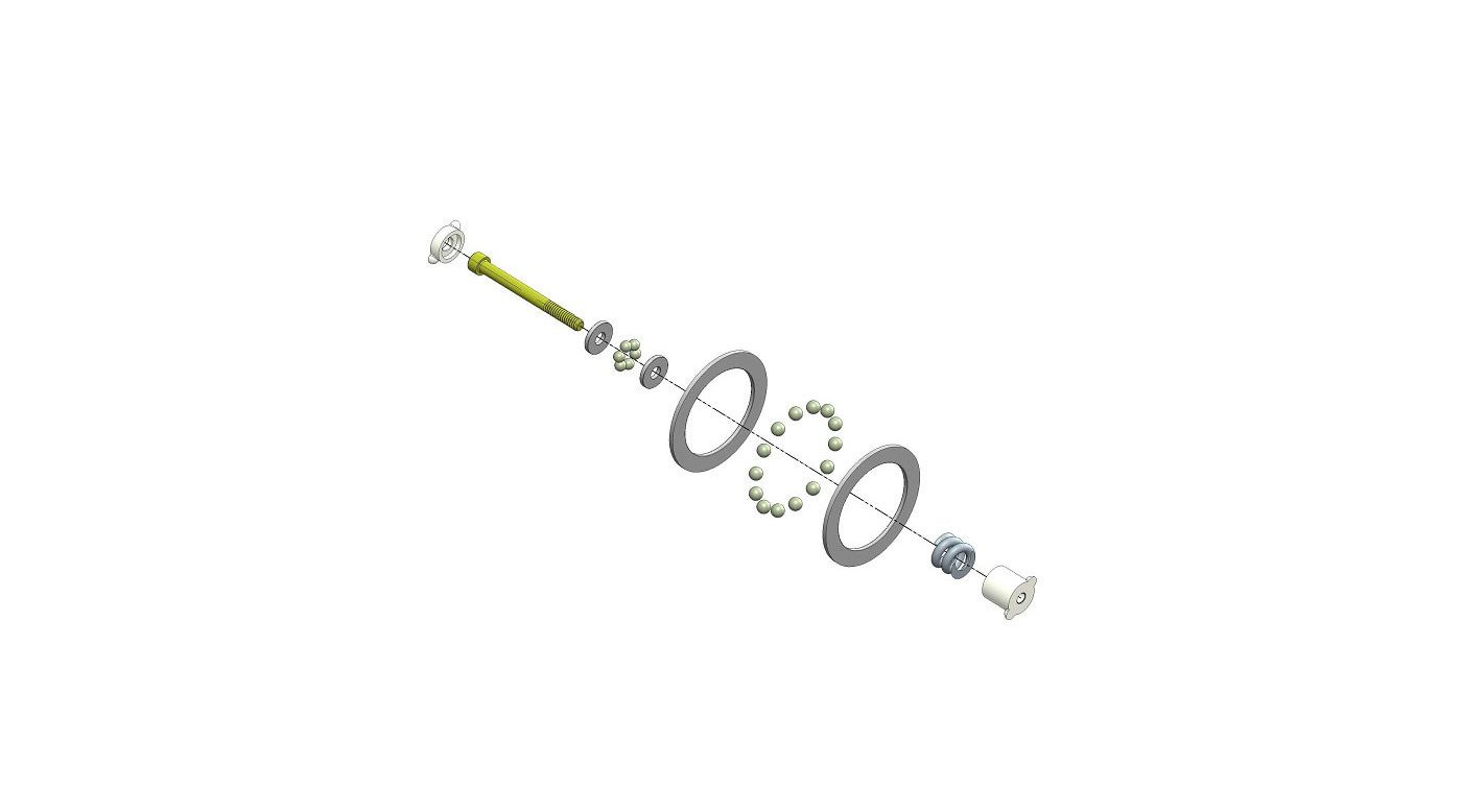 Image for Diff Rebuild Kit: TLR 22 Series from HorizonHobby