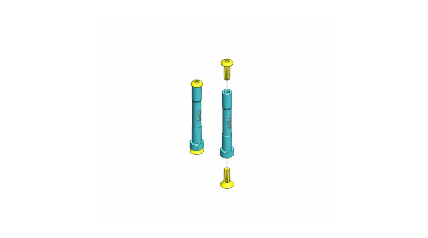 Image for Aluminum Steering Posts (2): Losi SCTE from HorizonHobby